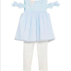 2 PC diamond blue Infant